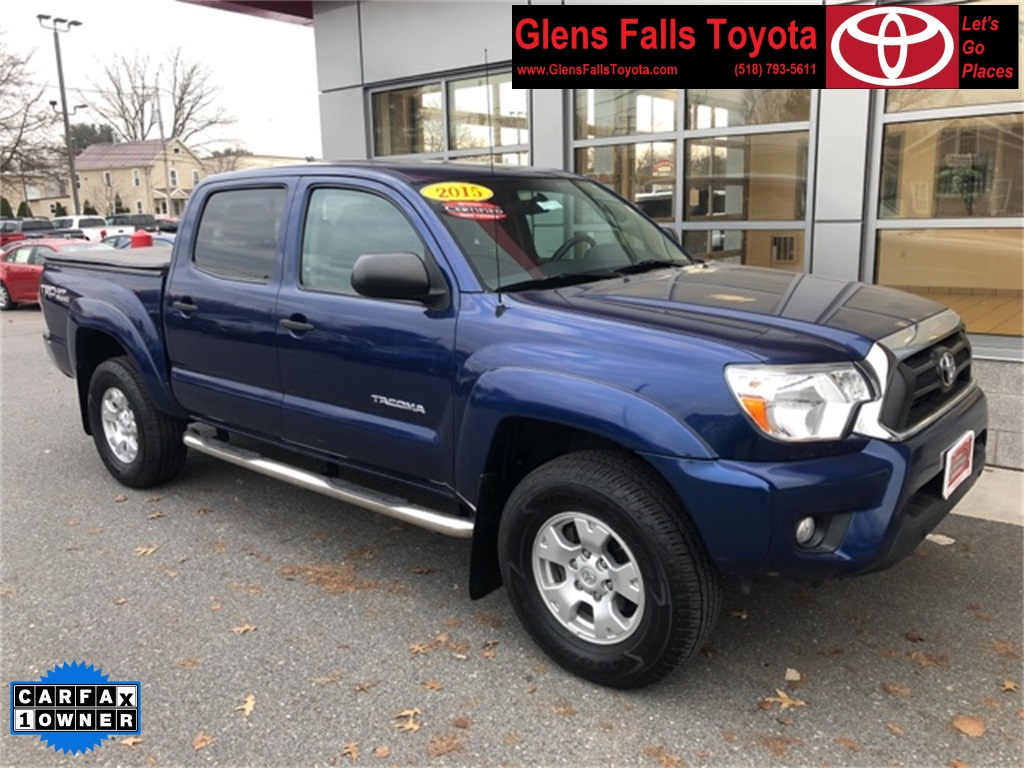 Certified Pre-Owned 2015 Toyota Tacoma Double Cab