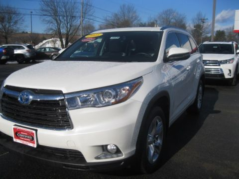 Certified Pre-Owned 2015 Toyota Highlander Hybrid Limited